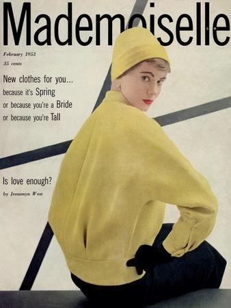 Mademoiselle Cover - February 1953