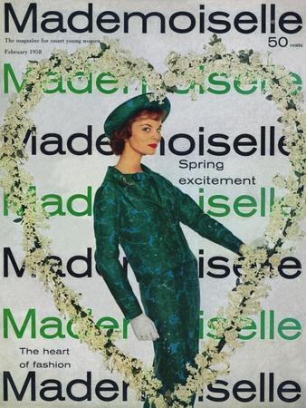 Mademoiselle Cover - February 1958