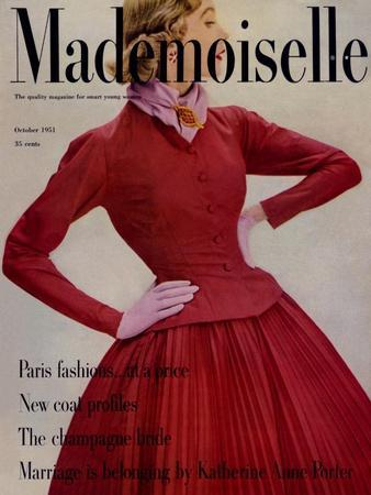 Mademoiselle Cover - October 1951