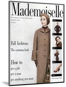 Mademoiselle Cover - September 1953 by Stephen Colhoun