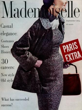 Mademoiselle Cover - September 1954