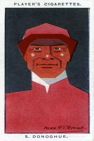 Stephen Donoghue, Jockey and Trainer, 1926 Giclee Print