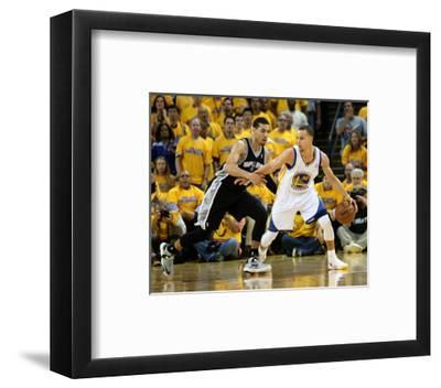 Oakland, CA - May 16: Stephen Curry and Danny Green