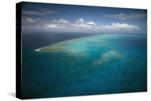 Great Barrier Reef in Australia from Above by Stephen Frink