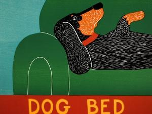 Dog Bed Dachshund by Stephen Huneck