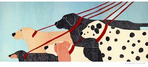 Dog Walker by Stephen Huneck
