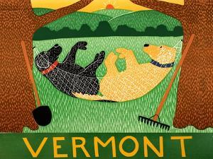 Farming Is Hard Work Vermont by Stephen Huneck