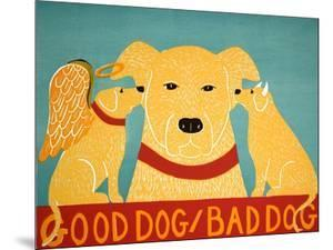 Good Dog Bad Dog Yellow by Stephen Huneck