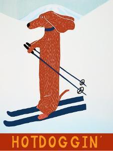 Hotdoggin Red by Stephen Huneck