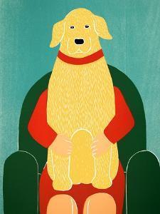 Lap Dog Yellow by Stephen Huneck