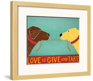 Love Is Chocolate Yellow by Stephen Huneck