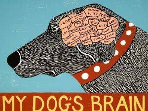 My Dogs Brain by Stephen Huneck