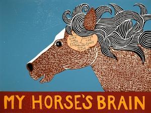 My Horses Brain by Stephen Huneck