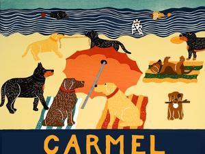 Ocean Ave Carmel by Stephen Huneck