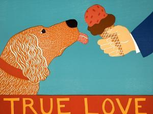 True Love Golden by Stephen Huneck