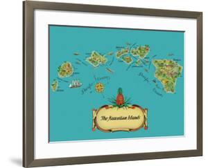 The Hawaiian Islands - from The Story of Pineapple by Stephen J^ Voorhies