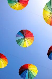 Beach Parasol by Stephen Lebovits