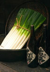 Sake and Leeks by Stephen Lebovits