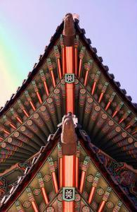 Temple, Seoul, Korea by Stephen Lebovits