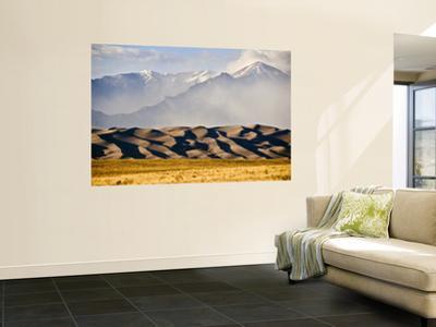 Landscape of Great Sand Dunes National Park and Preserve