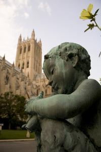 A Small Satyr Statue Has Become a Mascot for the Cathedral by Stephen St. John