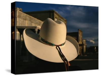 A White Cowboy Hat Accentuates This Western Movie Location