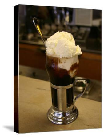 An Old-Fashioned Ice Cream Soda Awaits
