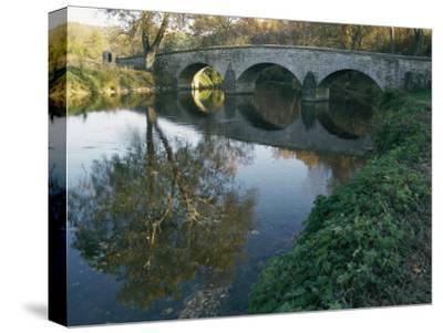 Antietam Creek Reflects the Arches of Burnside Bridge