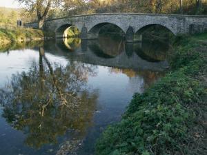 Antietam Creek Reflects the Arches of Burnside Bridge by Stephen St. John