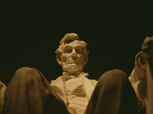 Close View of the Abraham Lincoln Statue, Centerpiece of the Memorial by Stephen St. John