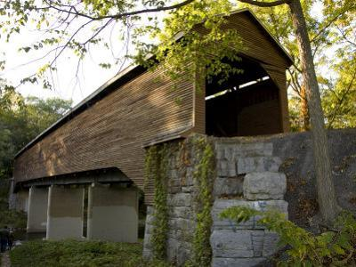 Meems Bottom Covered Bridge Is a Scenic 188-Foot-Long Single Span by Stephen St^ John