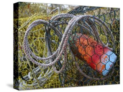 Patterns and Colors of Vintage Crab Traps and Floats