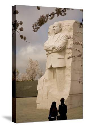 The National Memorial to Dr. Martin Luther King and Cherry Blossoms