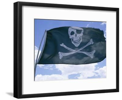 The Pirate Flag Known as the Jolly Roger or Skull and Crossbones