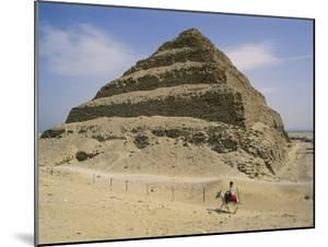 View of the Step Pyramid by Stephen St. John