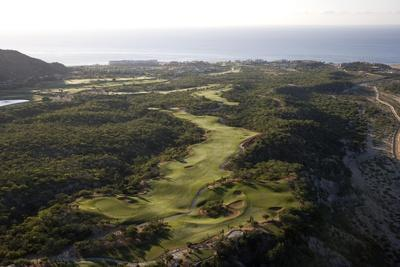 Cabo Real Golf Course, aerial, Holes 3 and 4