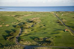 Carnoustie Golf Links, holes along the coastline by Stephen Szurlej