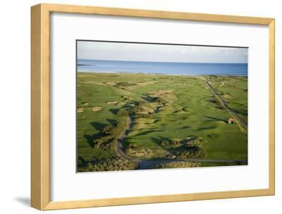 Carnoustie Golf Links, holes along the coastline