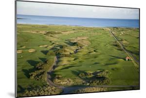 Carnoustie Golf Links, holes along the coastline by Stephen Szurlej