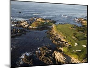 Cypress Point Gol Course Hole 16 and 17 by Stephen Szurlej