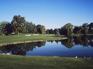 Oakland Hills Country Club, Hole 16 by Stephen Szurlej
