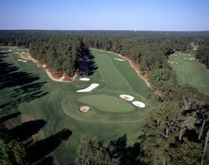 Pinehurst Golf Course No. 2, aerial by Stephen Szurlej