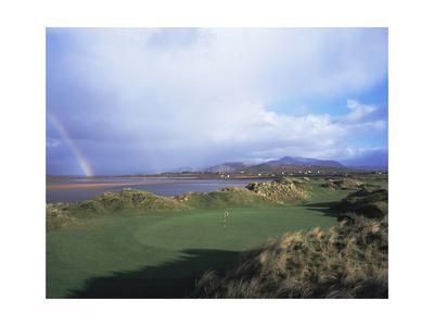 Waterville Golf Club rainbow