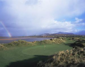 Waterville Golf Club rainbow by Stephen Szurlej
