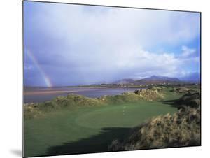 Waterville Golf Club rainbow by Stephen Szurlej