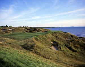 Whistling Straits Golf Club, Hole 12 by Stephen Szurlej