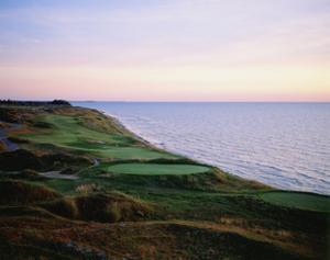 Whistling Straits Golf Club, sunset by Stephen Szurlej