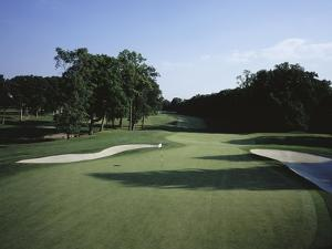 Winged Foot Golf Course, Hole 15 by Stephen Szurlej
