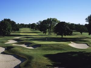Winged Foot Golf Course, Hole 9 by Stephen Szurlej