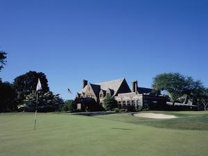 Winged Foot Golf Course West Course, Hole 9 by Stephen Szurlej